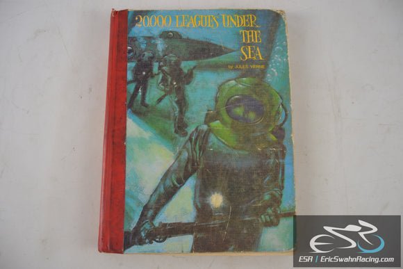 20,000 Leagues Under The Sea Hardcover Book 1968 Jules Verne
