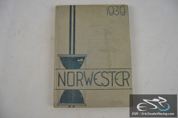 Vintage Norwester Hardcover Yearbook Northwestern High School 1939