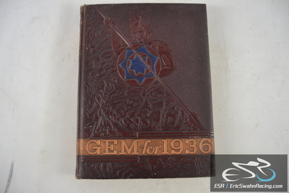 University of Idaho Vol 34 The Gem of the Mountains 1936 Yearbook