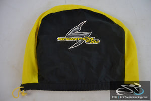 Lot of Three Scorpion Exo Black and Yellow Drawstring Motorcycle Helmet Bags