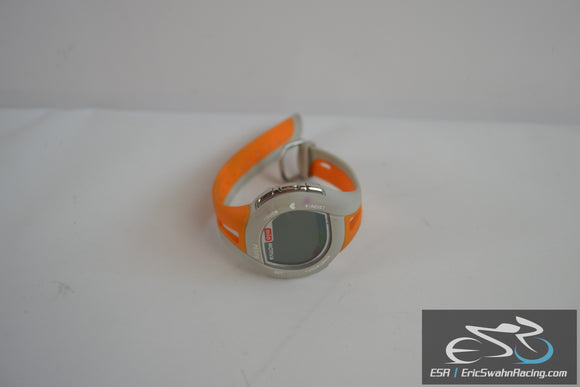 Mio Orange / White Fitness Watch ECG Accurate Stainless Steel Physi-Cal WR30M