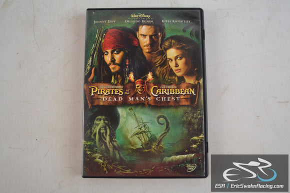 Pirates of the Caribbean Movie DVD Dead Man's Chest Orlando Bloom 2006