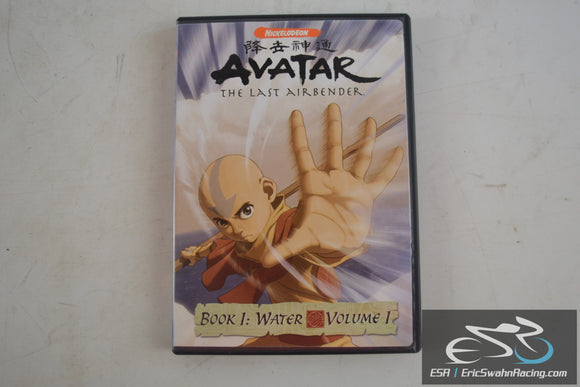 Avatar The Last Airbender Movie DVD Book 1: Water Volume 1 Nickelodeon 2006
