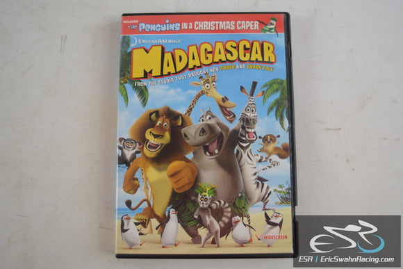 Madagascar Movie DVD Widescreen DreamWorks 2005