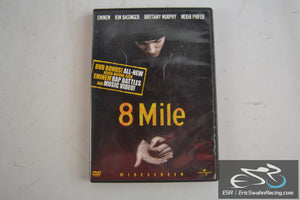 8 Mile Widescreen Movie DVD Video Eminem Kim Basinger Universal 2003