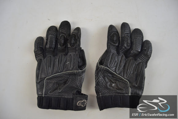Alpinestars Black AFK Street Motorcycle Shorty Gloves