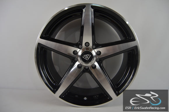 White Diamond Edition Luxury Wheels 17x7.5