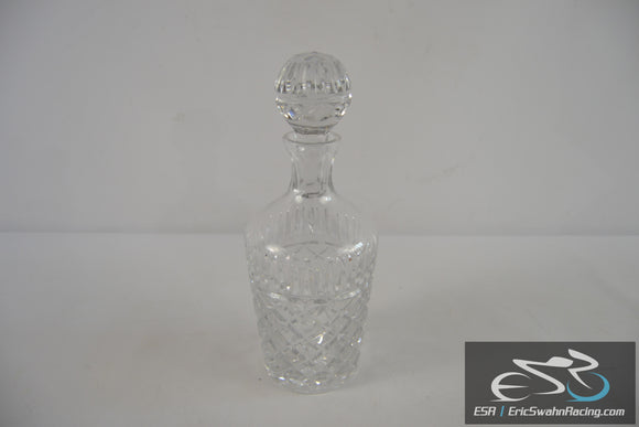 Crystal Glass Liquor / Wine Decanter With Stopper