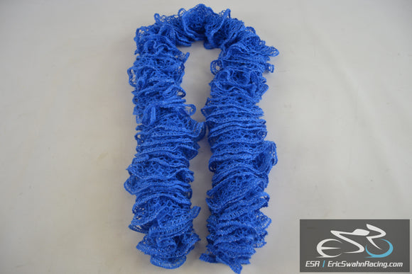 Fashion Mesh Lace Women's Blue Scarf Scarve Wrap