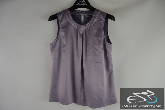 Cintas Women's Purple Vest Uniform Dress Workwear Size Small