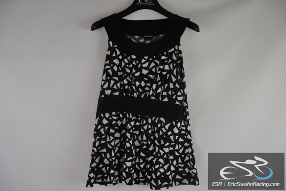 Susan Lawrence Women's Black White Dress Size Large