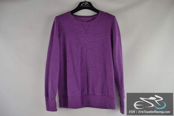 Tek Gear Women's Purple Long Sleeve Sweater Size Large