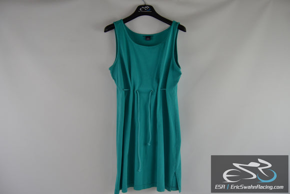 Women's Blue / Turquoise Dress With Drawstring Size Large 14-16