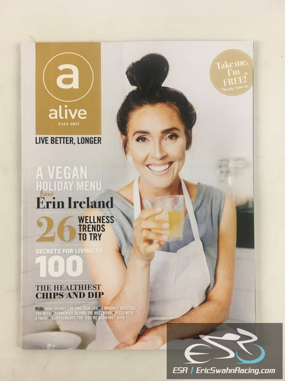 Alive Magazine Fall 2017 Vegan Holiday Menu, Wellness Trends, Living To 100