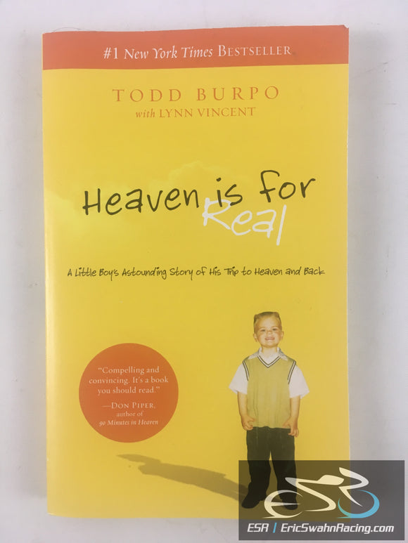 Heaven Is For Real Paperback Book Todd Burpo, Lynn Vincent 2010