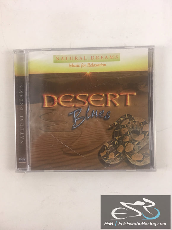 Desert Blues: Natural Dreams Music For Relaxation Audio CD 1999 Hey! Presto