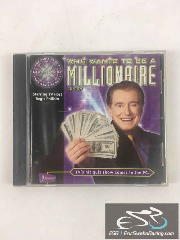 Who Wants To Be A Millionaire Computer PC Game 1999 Disney