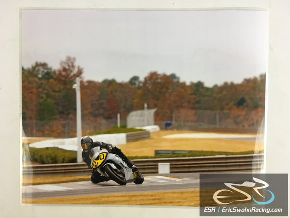 ESR Eric Swahn Racing Motorcycle Racing Laminated Poster 2012.2 20x16