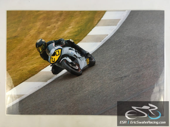 ESR Eric Swahn Racing Motorcycle Racing Laminated Poster 2012.4 30x20