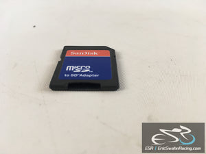 SanDisk SD 2 GB Memory Card With Clear Case