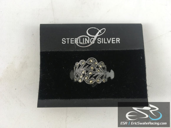 Sterling Silver Ring Jewelry With Original Packaging