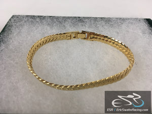Gold Bracelet Jewelry With Gift Box