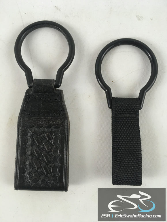 Safariland Black H88 Belt Loop With Rings Set Of Two