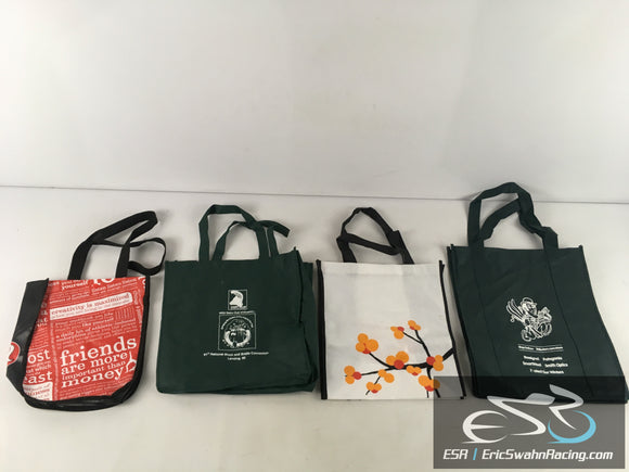 Lot Of Four Various Reusable Shopping Grocery Bags