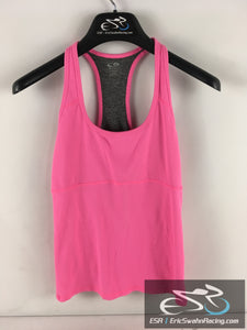 Champion Fitted Athletic Women's Pink Gray Sleeveless Top Size Medium