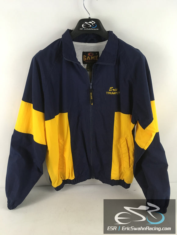 Game Sportswear Crestwood Chargers Marching Band Blue Yellow Jacket Eric Trumpet