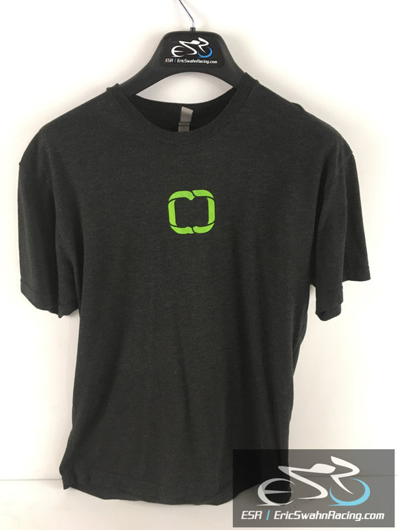 Movestrong Next Level Apparel Men's Black / Green Shirt Size Large