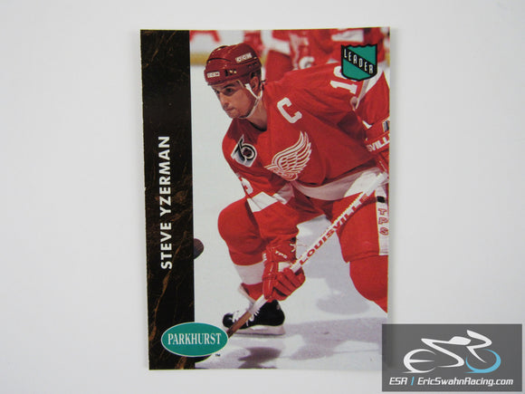 Steve Yzerman 434 Detroit Red Wings NHL Hockey Card Parkhurst 1992