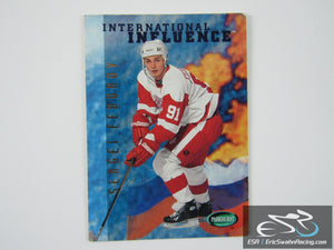 Sergei Fedorov 238 Detroit Red Wings NHL Hockey Card Parkhurst 1994