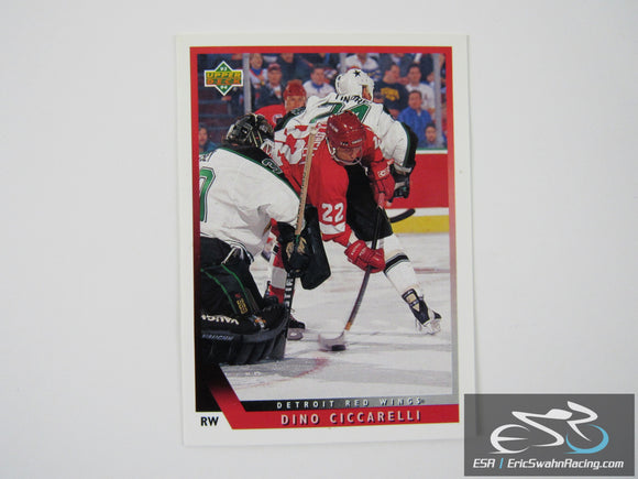 Dino Ciccarelli 136 Detroit Red Wings NHL Hockey Card Upper Deck 1993