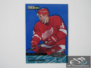 Vladimir Konstantinov SQ33 Detroit Red Wings NHL Hockey Card StarQuest 1997