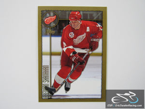 Brendan Shanahan 216 Detroit Red Wings NHL Hockey Card Topps 1998