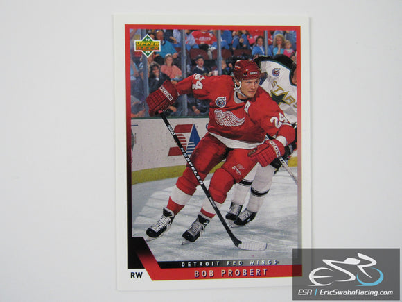 Bob Probert 200 Detroit Red Wings NHL Hockey Card Upper Deck 1993