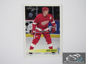 Bob Rouse 393 Detroit Red Wings NHL Hockey Card Topps 1995