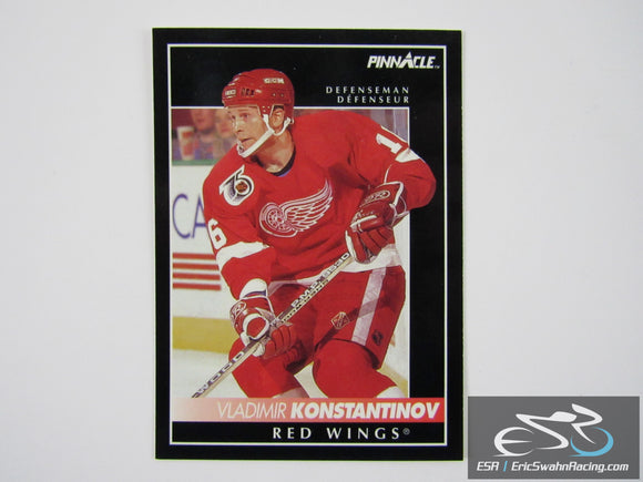 Vladimir Konstantinov 76 Detroit Red Wings NHL Hockey Card Score Pinnacle 1992
