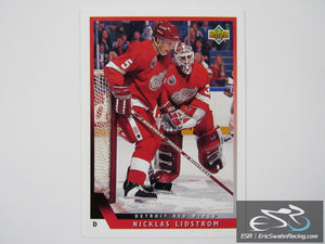 Nicklas Lidstrom 150 Detroit Red Wings NHL Hockey Card Upper Deck 1993