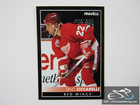Dino Ciccarelli 311 Detroit Red Wings NHL Hockey Card Score Pinnacle 1992