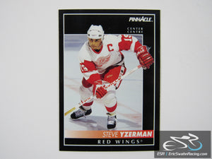 Steve Yzerman 350 Detroit Red Wings NHL Hockey Card Score Pinnacle 1992