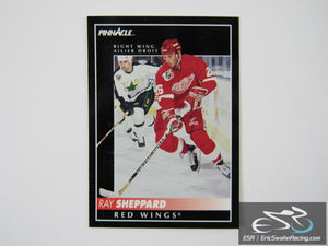 Ray Sheppard 119 Detroit Red Wings NHL Hockey Card Score Pinnacle 1992