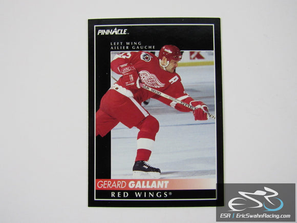 Gerard Gallant 135 Detroit Red Wings NHL Hockey Card Score Pinnacle 1992