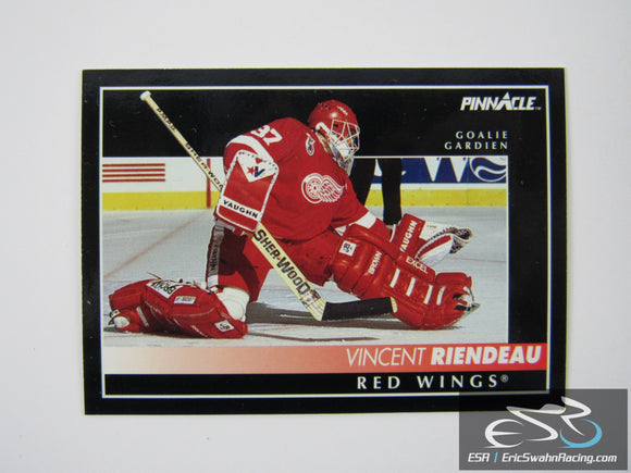Vincent Riendeau 177 Detroit Red Wings NHL Hockey Card Score Pinnacle 1992