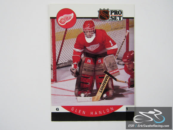 Glen Hanlon 72 Detroit Red Wings NHL Hockey Card Pro Set 1990
