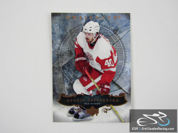 Henrik Zetterberg 63 Detroit Red Wings NHL Hockey Card Upper Deck 2006