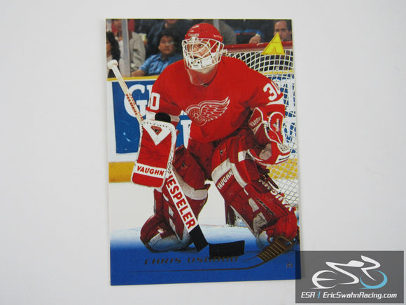 Chris Osgood 160 Detroit Red Wings NHL Hockey Card Pinnacle 1995