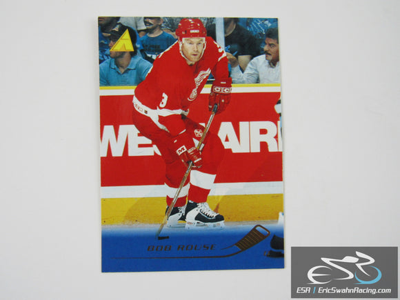 Bob Rouse 163 Detroit Red Wings NHL Hockey Card Pinnacle 1995