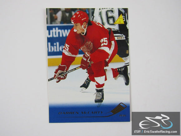 Darren McCarty 176 Detroit Red Wings NHL Hockey Card Pinnacle 1995